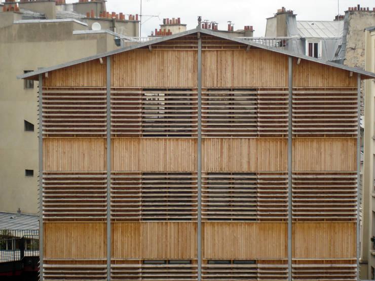la transparence vers les terrasses:  de style  par graam