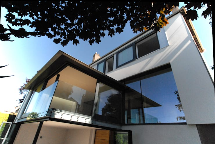 Refurbishment & Extension to a Property on Ravelston Dykes:  Houses by Richard Murphy Architects