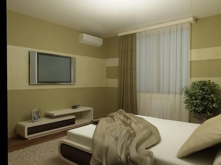 Дизайн квартиры: Спальни в . Автор – Efimova Ekaterina