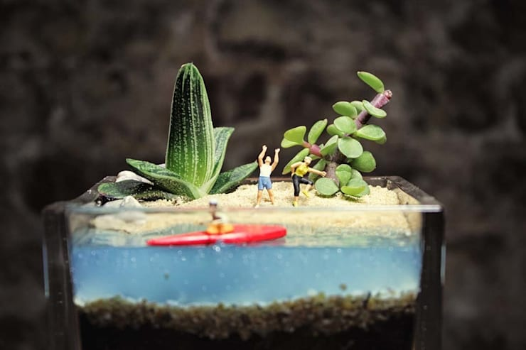 MyHobbyMarket & Peri Bahçem – Spor Yapalım Minyatür Bahçe:  tarz Ev İçi