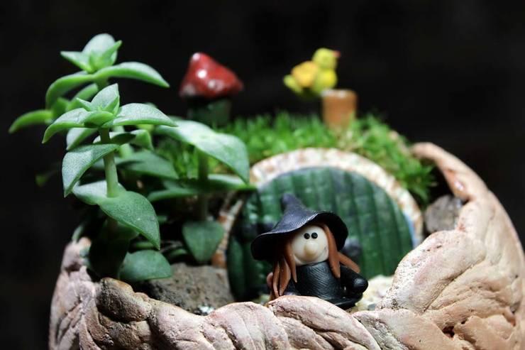 MyHobbyMarket & Peri Bahçem – Hobbit Evi:  tarz Ev İçi