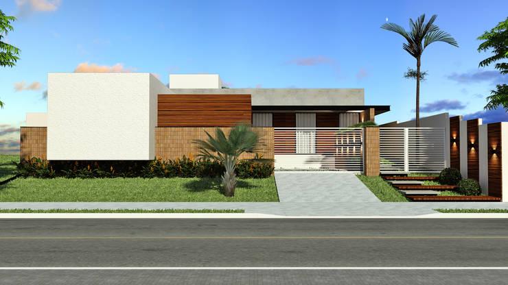 Residência SM+: Casas  por Quattro+ Arquitetura