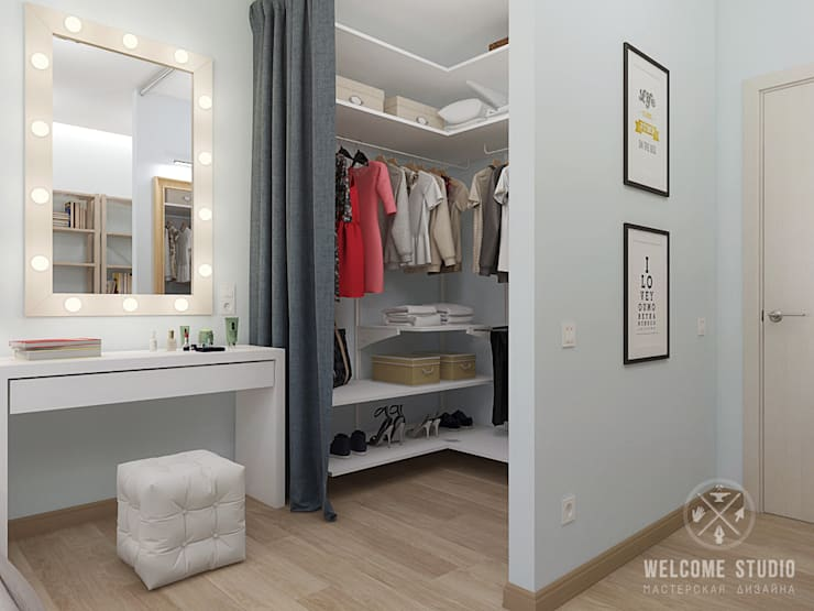 Bedroom by Мастерская дизайна Welcome Studio