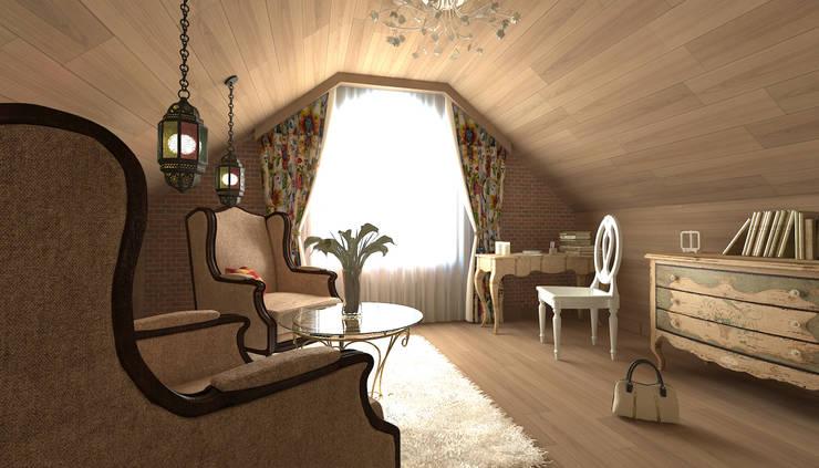 Bedroom by Makhrova Svetlana
