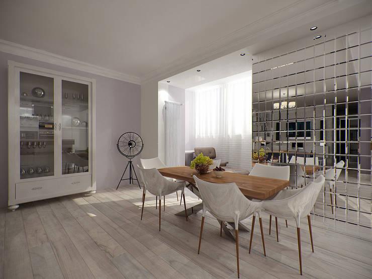 Modern dining room by Makhrova Svetlana Modern