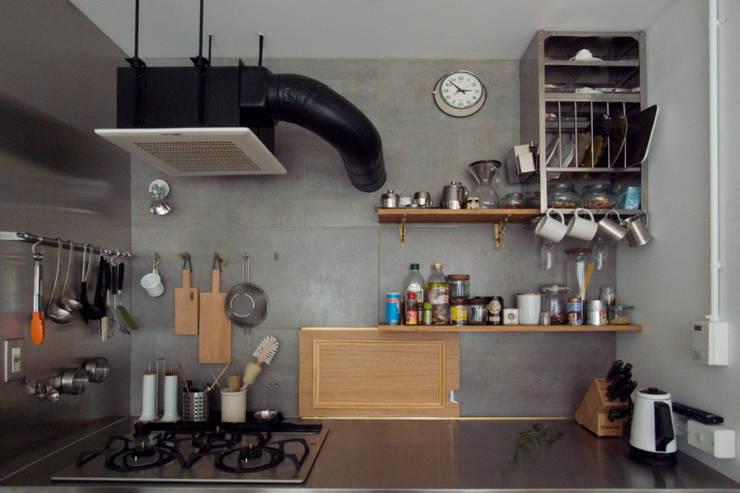 passage: 一級建築士事務所ageha.が手掛けたキッチンです。,ラスティック