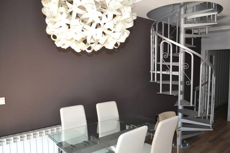 Salón Urbano: Salones de estilo  de MIMESIS INTERIORISMO