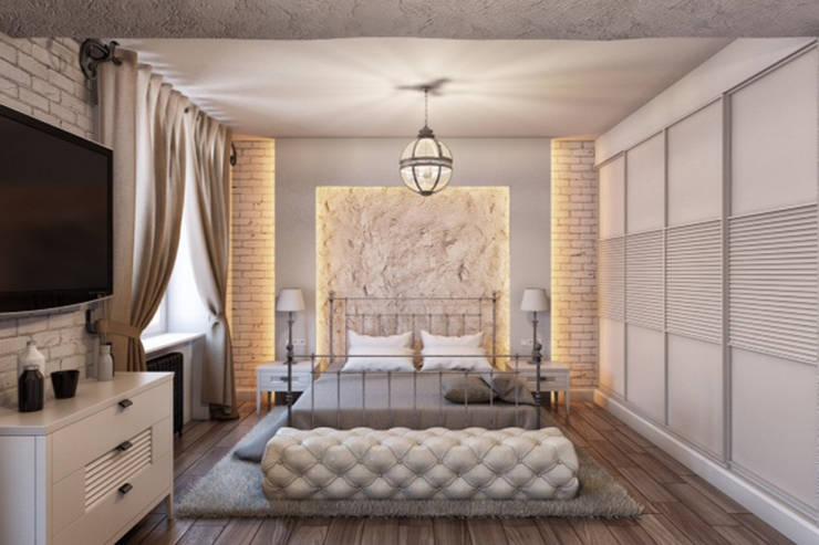 """Частный интерьер: Спальная комната  в . Автор – Студия """"Сити Дизайн"""""""