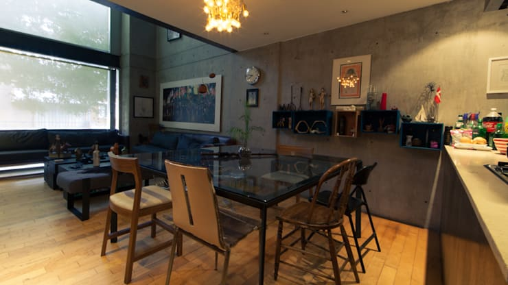 CACAHUAMILPA: Comedores de estilo ecléctico por TALLER R