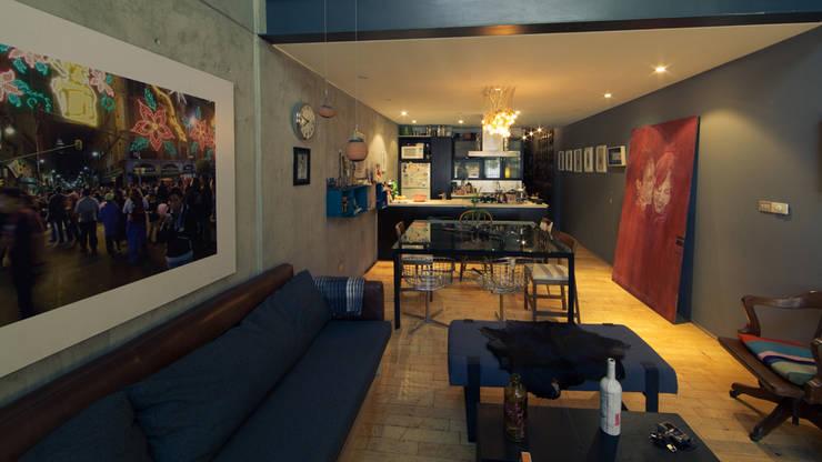 CACAHUAMILPA: Comedores de estilo moderno por TALLER R