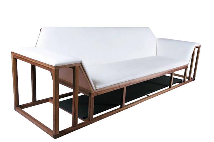 Projekty,  Salon zaprojektowane przez TALLER R