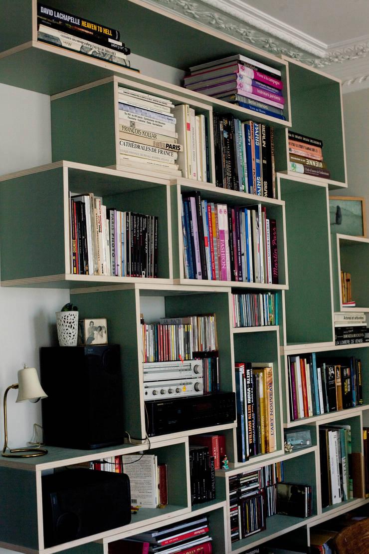 Bibliothèque : Bureau de style  par Thibaut and Thewood