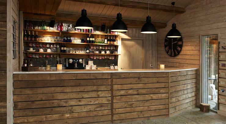 Fletcher's Cottage Bar:  Spa by Aitken Turnbull Architects