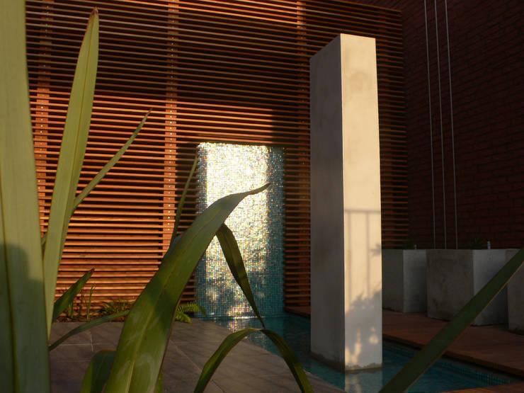 patio garden Holland Taman Modern Oleh Andrew van Egmond (ontwerp van tuin en landschap) Modern