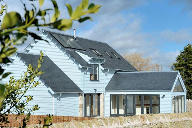 Birgham Haugh Exterior:  Houses by Aitken Turnbull Architects