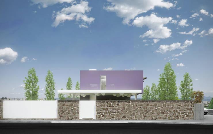 Moradia Alfazema: Casas  por EVA | evolutionary architecture