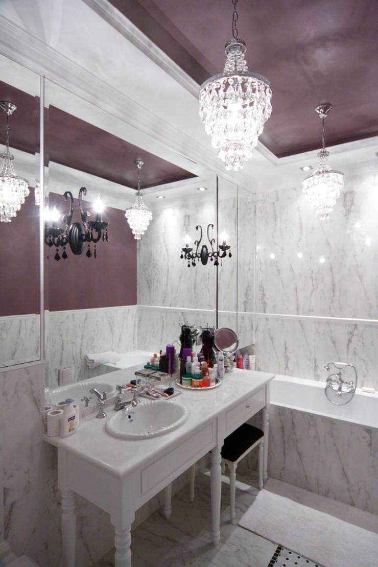 apartament Willanów: styl , w kategorii Łazienka zaprojektowany przez livinghome wnętrza Katarzyna Sybilska