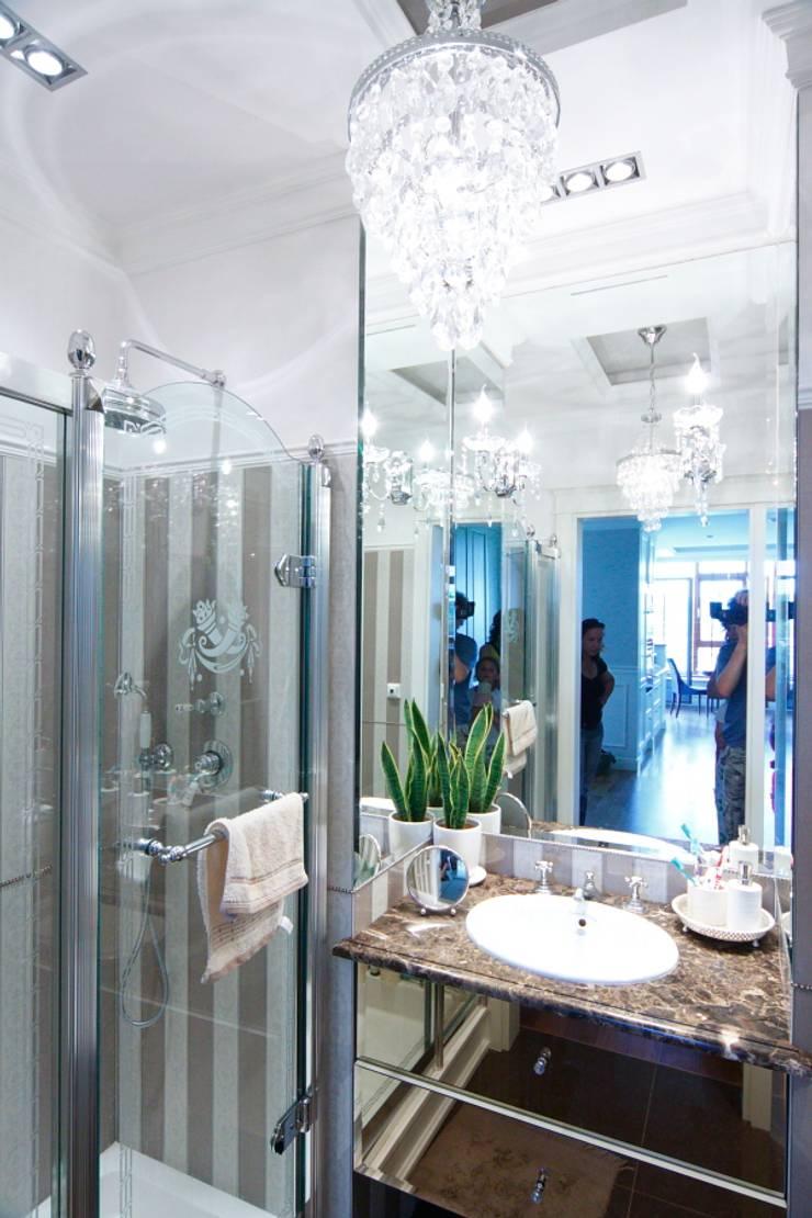 elegancka łazienka devon & devon: styl , w kategorii Łazienka zaprojektowany przez livinghome wnętrza Katarzyna Sybilska