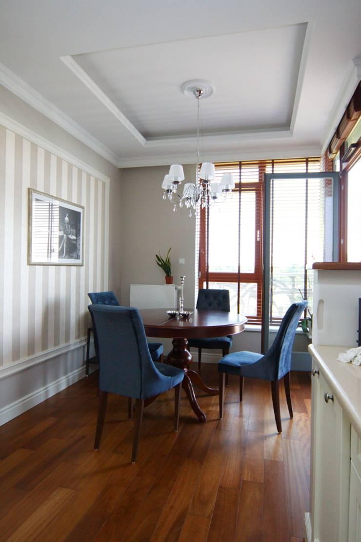 apartament Willanów: styl , w kategorii Jadalnia zaprojektowany przez livinghome wnętrza Katarzyna Sybilska