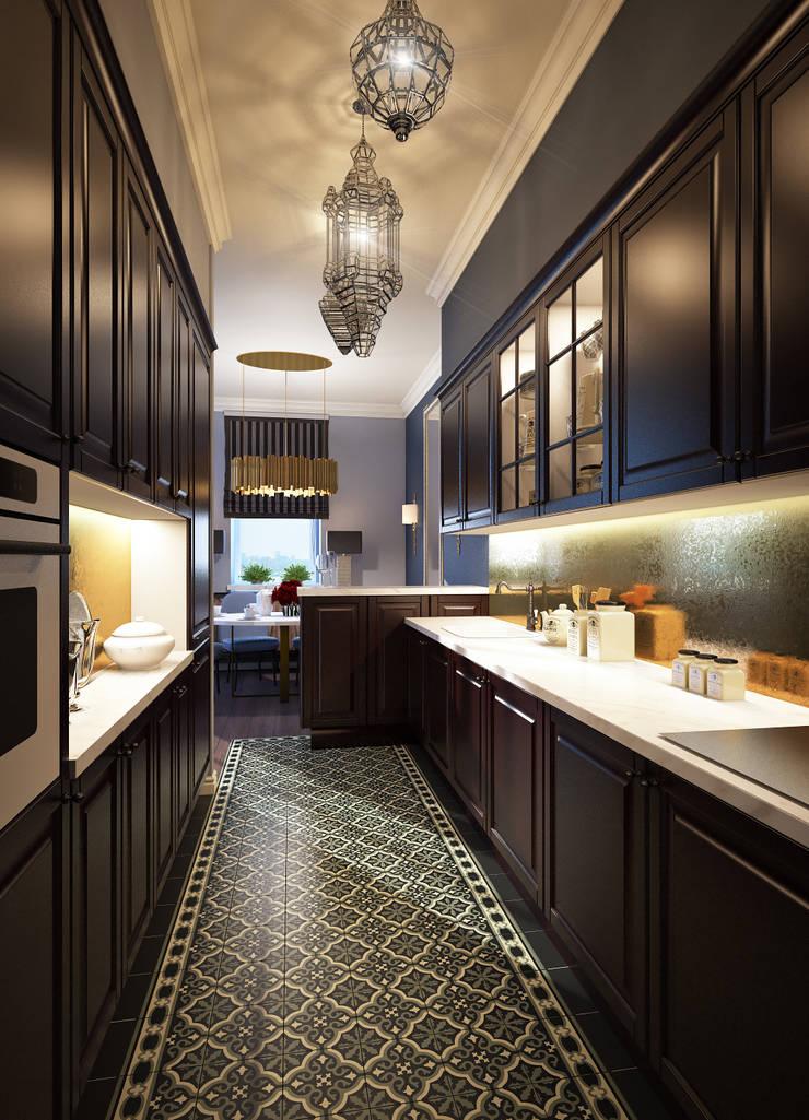 مطبخ تنفيذ Natalia Solo Design