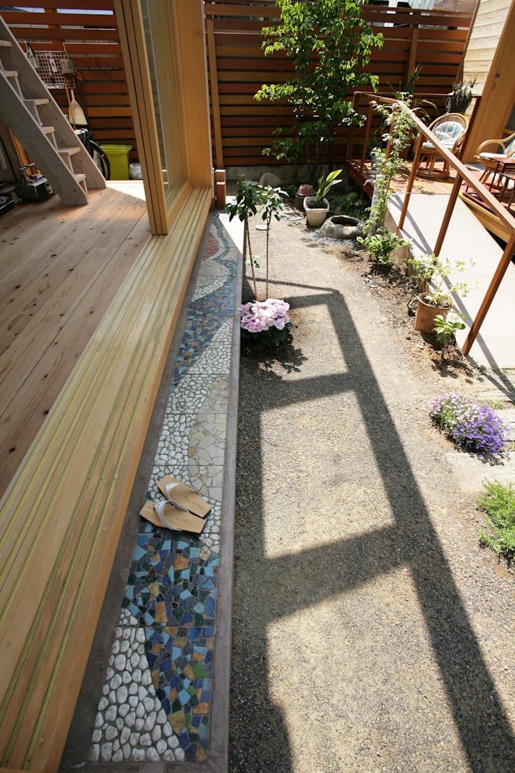 加藤先生の家: 一級建築士事務所 青木設計事務所が手掛けた庭です。