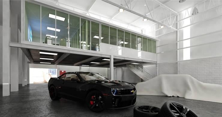 Varios: Garajes de estilo  por arquitecto9.com