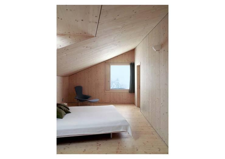 Projekty,  Sypialnia zaprojektowane przez Hurst Song Architekten
