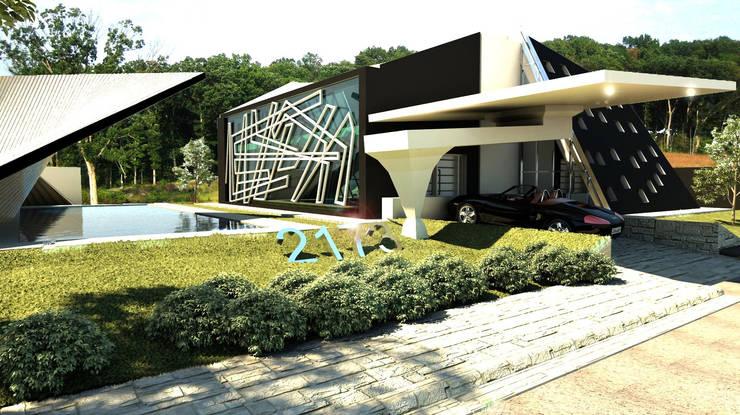 Дома в . Автор – arquitecto9.com