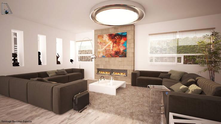 Varios: Salas de estilo  por arquitecto9.com