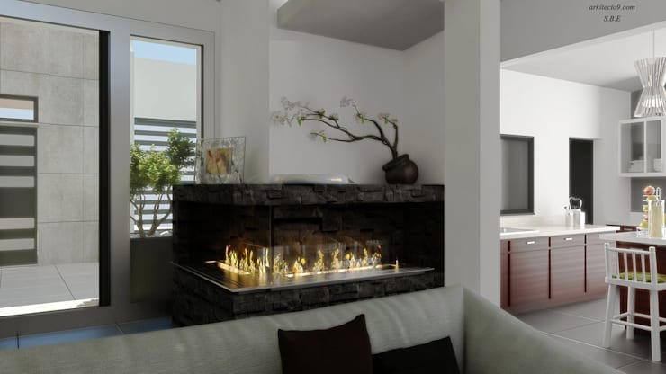 Varios: Comedores de estilo  por arquitecto9.com
