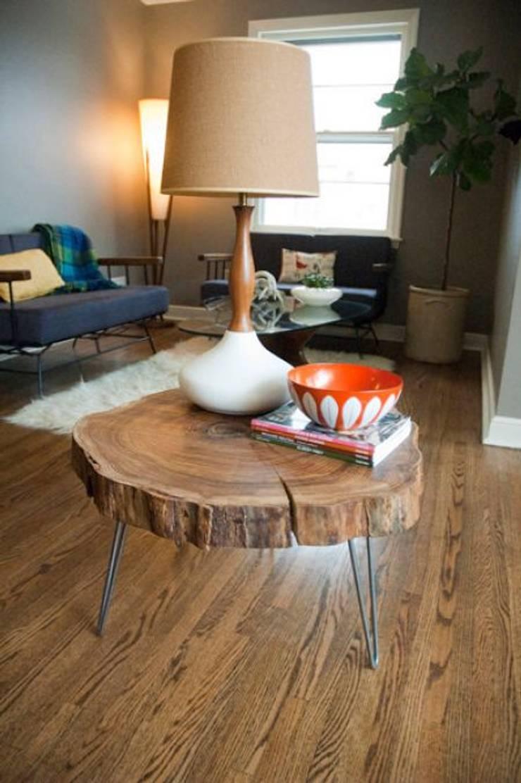 Uçan Ev Home Concept – Dilim Sehpa:  tarz İç Dekorasyon