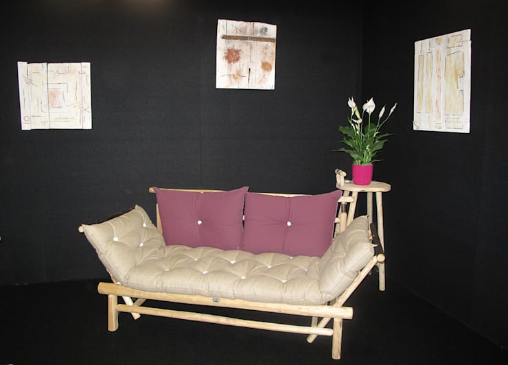 Salas de estilo  por Création Châtaignier