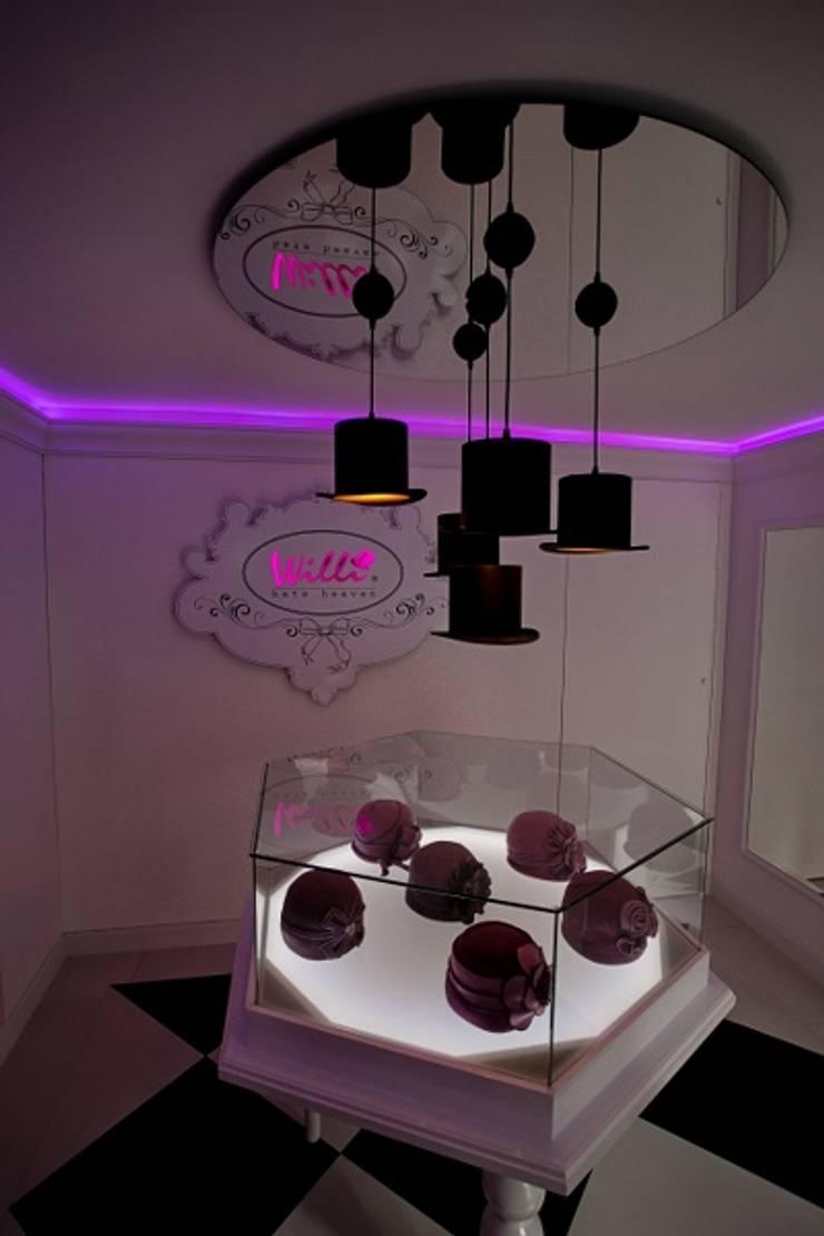 SHOWROOM WILLI : styl , w kategorii Powierzchnie handlowe zaprojektowany przez livinghome wnętrza Katarzyna Sybilska,