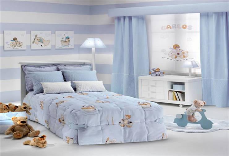 Dormitorios infantiles  de estilo  por EL OESTE HOGAR
