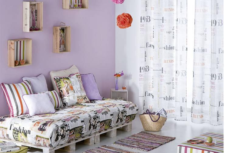 Dormitorios de estilo  por EL OESTE HOGAR