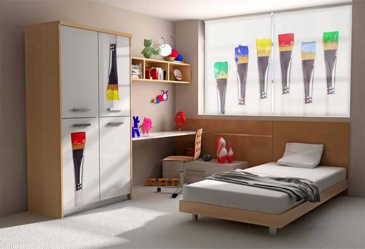 Fotos: Dormitorios de estilo moderno de EL OESTE HOGAR