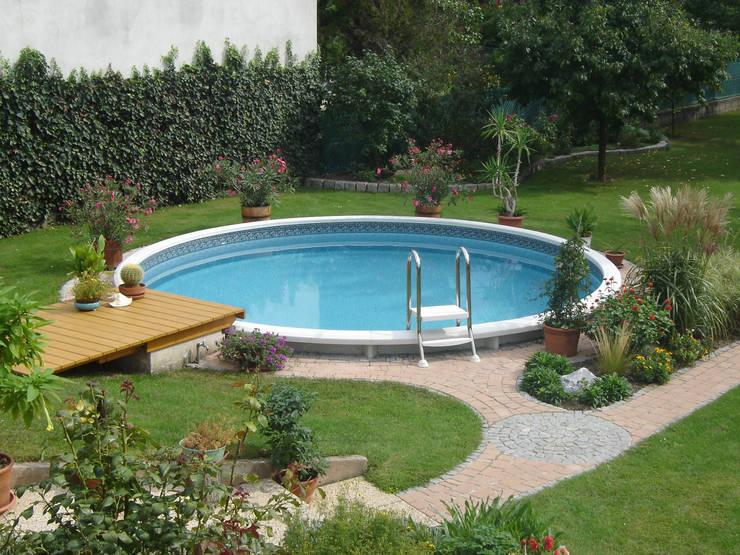 klassiek Zwembad door Pool + Wellness City GmbH