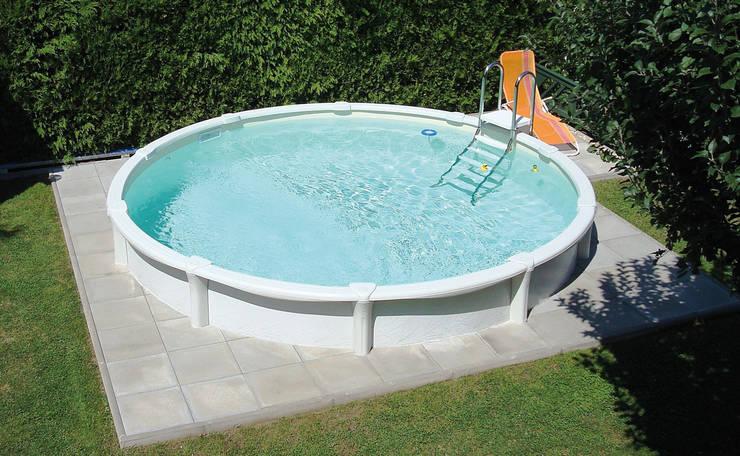 Hochwertige Stahlwandpools mit langer Haltbarkeit:  Pool von Pool + Wellness City GmbH