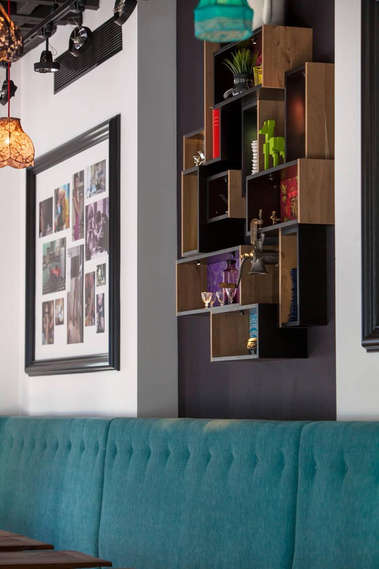 Détail: Restaurants de style  par GUILLAUME DA SILVA ARCHITECTURE INTERIEURE