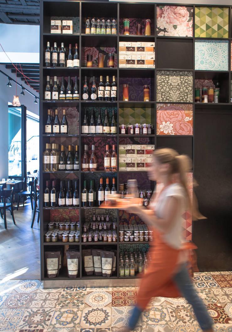 Store: Restaurants de style  par GUILLAUME DA SILVA ARCHITECTURE INTERIEURE