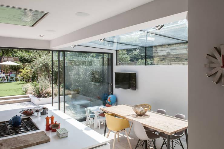 Friern Road, London:  Kitchen by Red Squirrel Architects Ltd