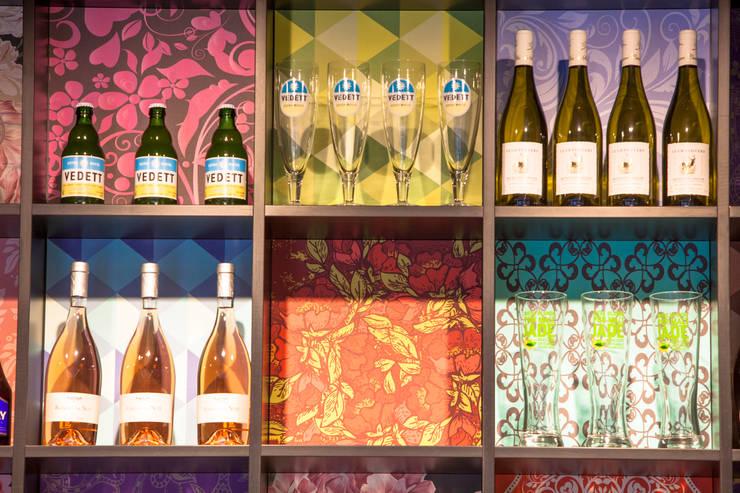 Détail du store: Restaurants de style  par GUILLAUME DA SILVA ARCHITECTURE INTERIEURE