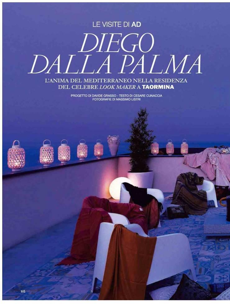 Dalla Palma pg.1: Terrazza in stile  di Mobilificio Marchese,
