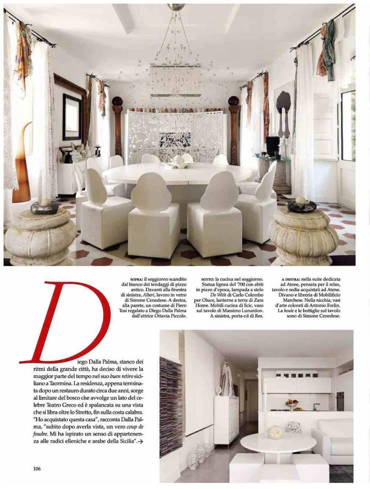 Dalla Palma pg.5: Cucina in stile  di Mobilificio Marchese,