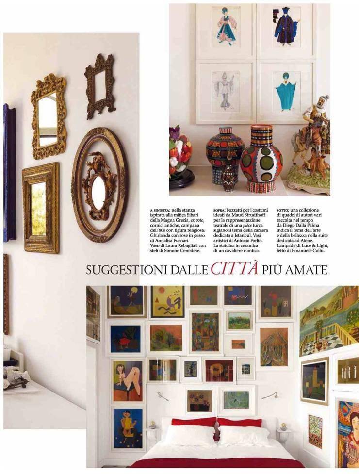 Dalla Palma pg.8: Ingresso & Corridoio in stile  di Mobilificio Marchese,