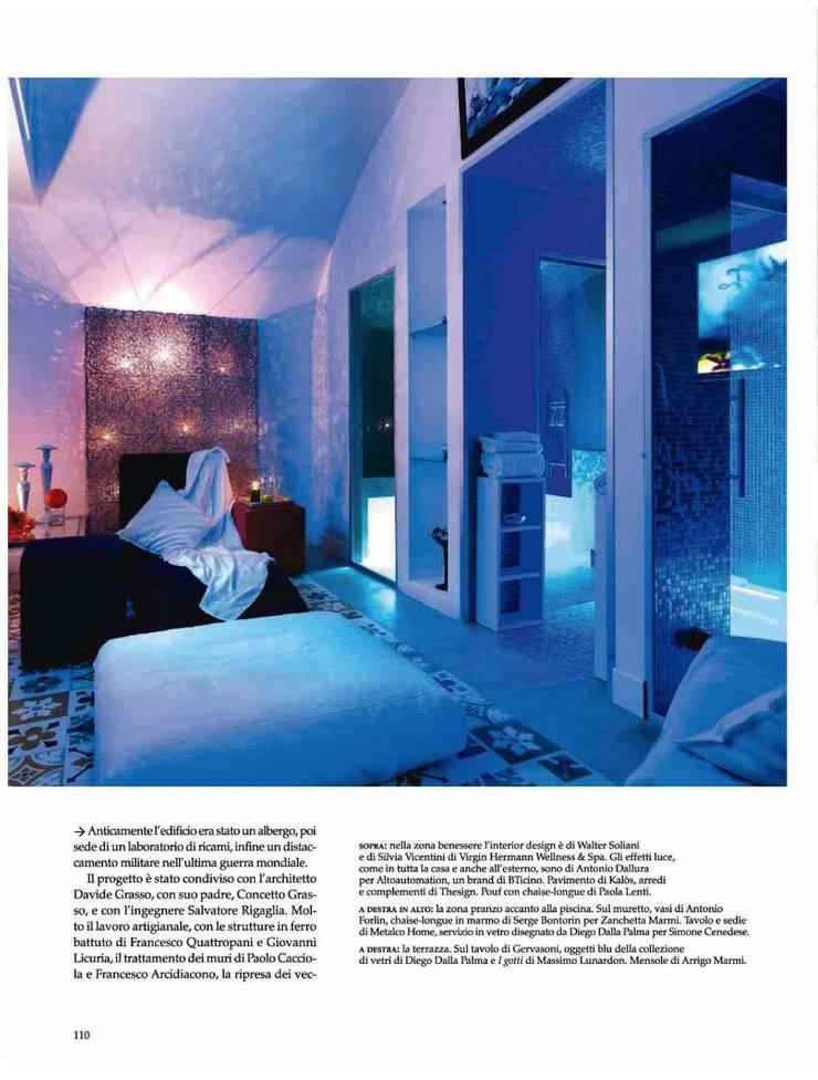 Dalla Palma pg.9: Spa in stile  di Mobilificio Marchese,