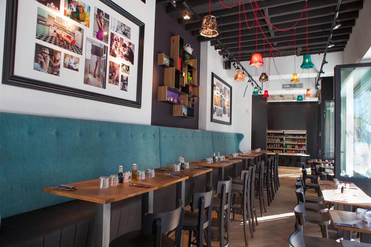 Madame Bistro: Restaurants de style  par GUILLAUME DA SILVA ARCHITECTURE INTERIEURE