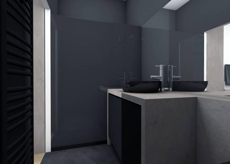 Modern Bathroom by EVA MYARD interior Modern