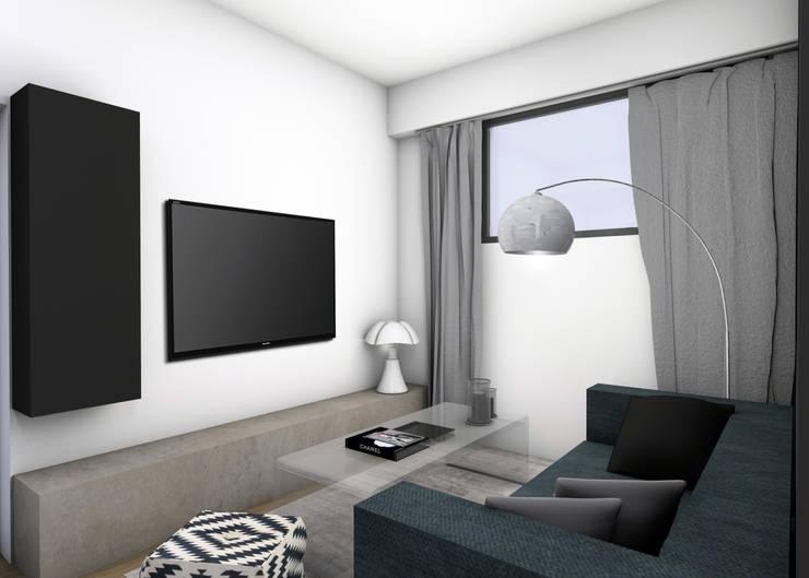 Modern Living Room by EVA MYARD interior Modern