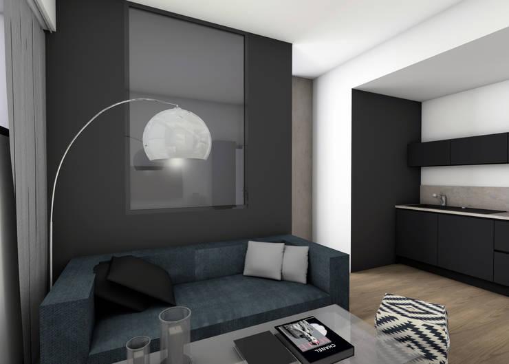 Modern Bedroom by EVA MYARD interior Modern